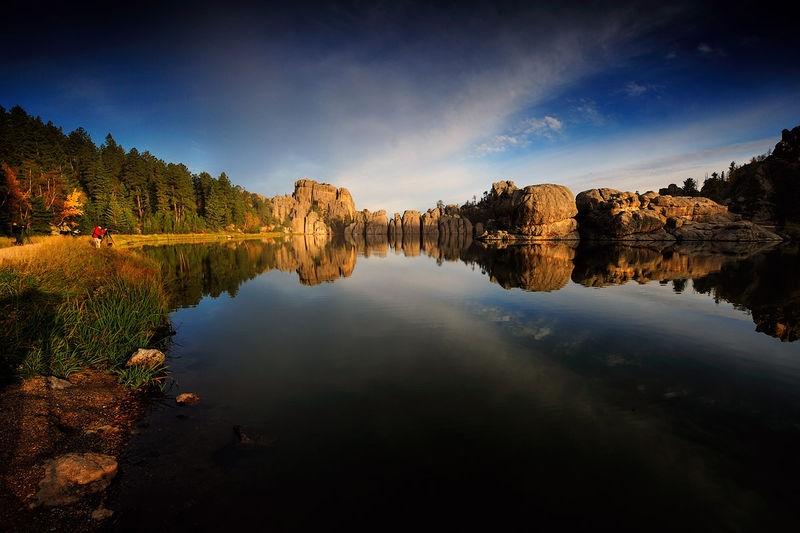 Sylvan Lake Morning