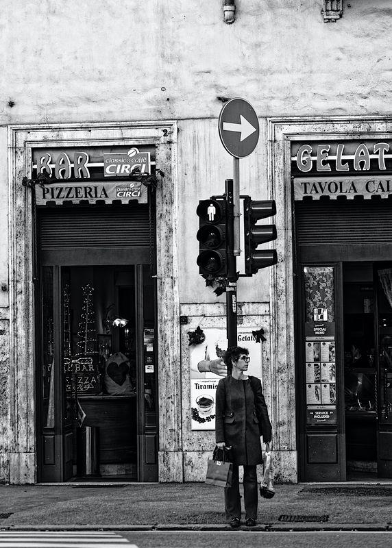 Street crossing