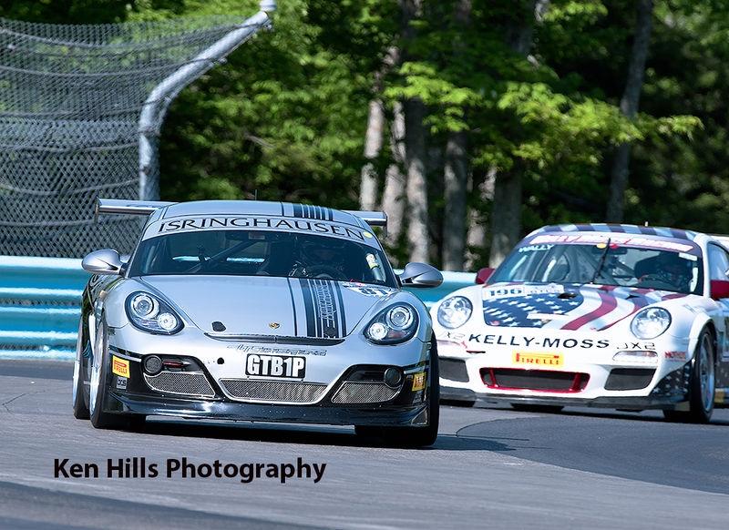Porsche Clash at the Glen