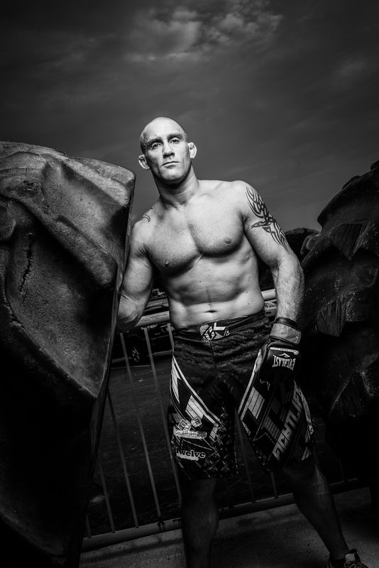The Boxer ( actually MMA fighter)