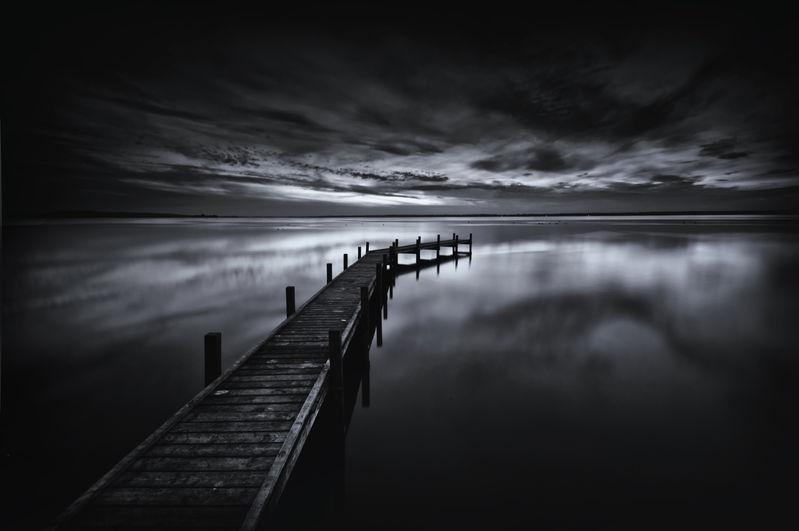 The last light on the horizon