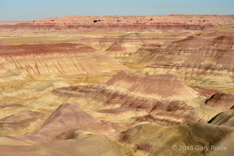 Little Painted Desert from below the Rim