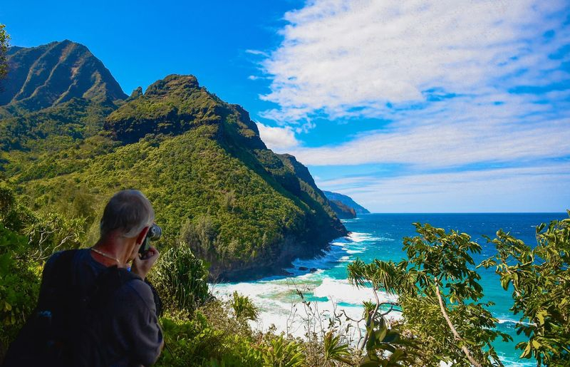 Photo Opportunity,Napali Coast,Kalalau Trail,Kauai
