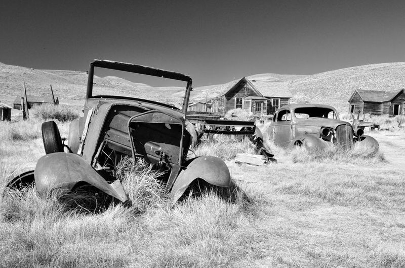 Parking Lot in Bodie
