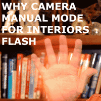 Why use Camera Manual with Flash Indoors?
