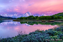 Long exposure - Segment 3 Honorable mention Oxbow bend before sunrise by Pete Wilson D800 | 24-120 f4 f8, iso 100, 3 seconds