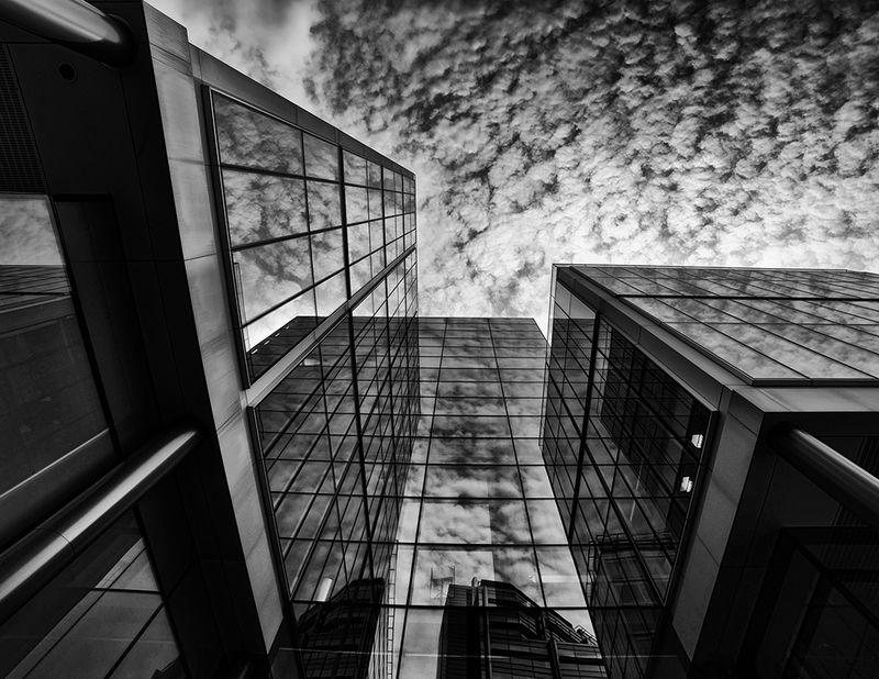 London Buildings B&W