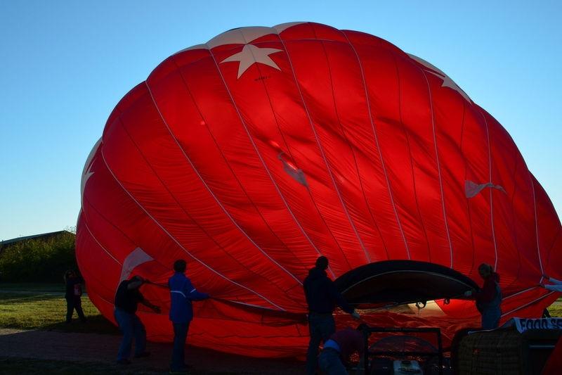 Ballon Inflating