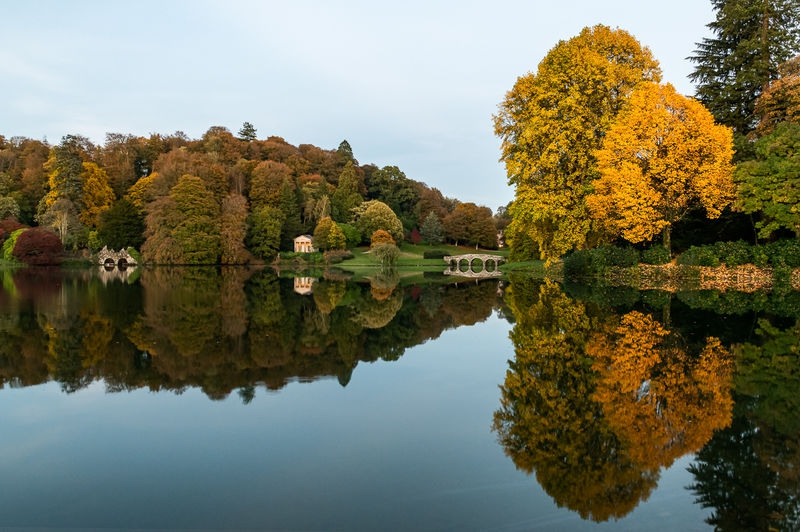 Stourhead Gardens, Wiltshire, UK