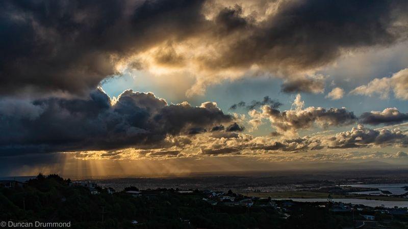 Storm over The Canterbury Plains