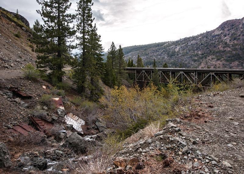 Donner Pass, Bridge at Cisco