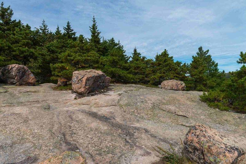 The Bubbles, Bubble Rock, and Bubble Rock Trail