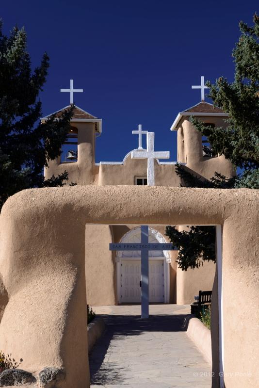 Entry Arch, San Francisco de Asis Church