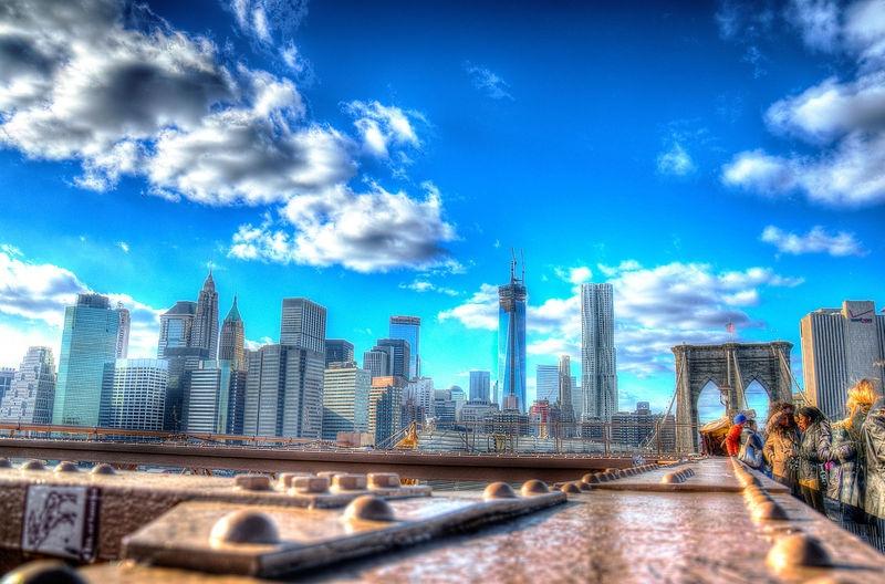 Lower Manhattan Skyline HDR