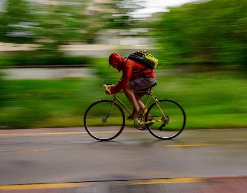 Rainy Commute - Wheels