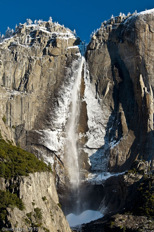 Yosemite Fals w/ ice