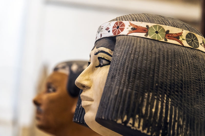 Nofret Statue in the Egyptian Museum Cairo, Egypt