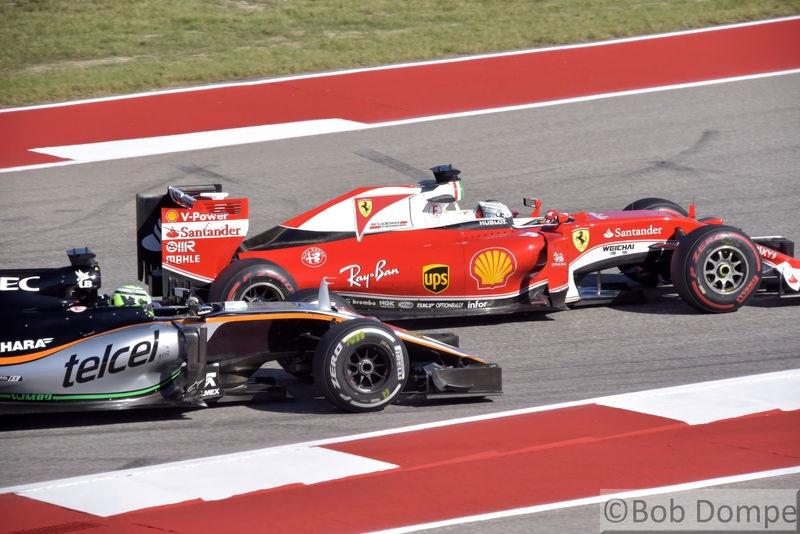 2016 US Grand Prix - Turn 15 - COTA