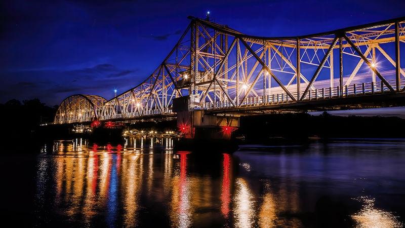 East Haddem Bridge (Night)