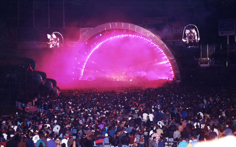 Pink Floyd Division Bell Tour at Oakland Coliseum 1995