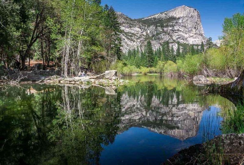 Mirror Lake, Yosemite Nat'l Park