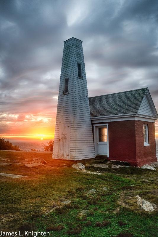 Sunrise at Pimaquid Lighthouse