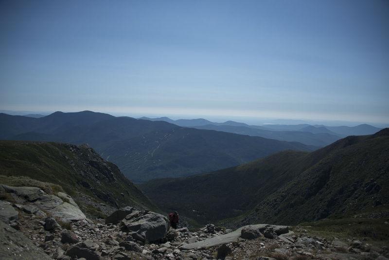 Descending Lion Head Trail - White Mountains