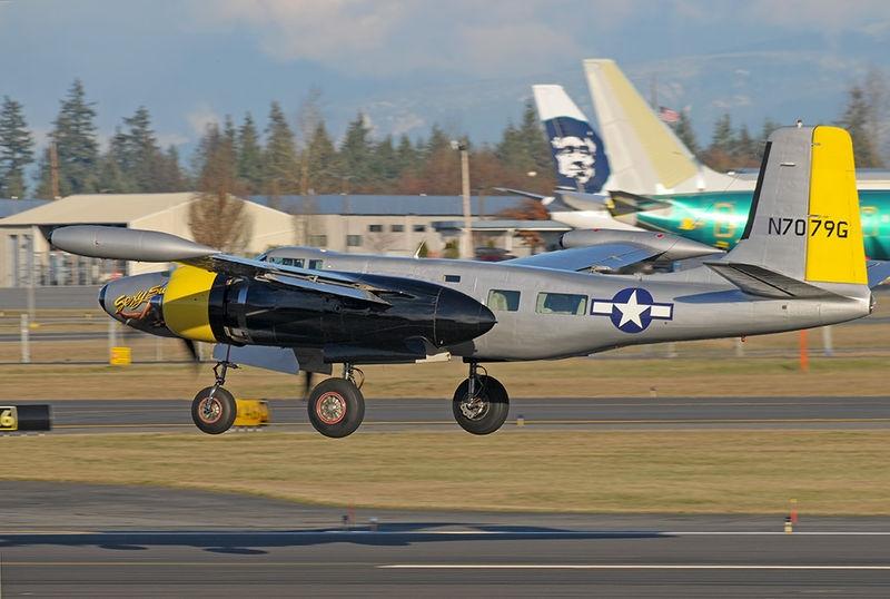 Douglas A-26 Invader NL7079G