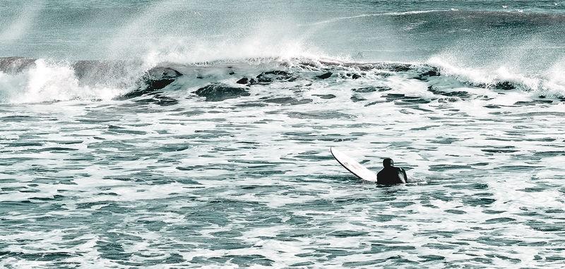 Winter Surfing in Maine