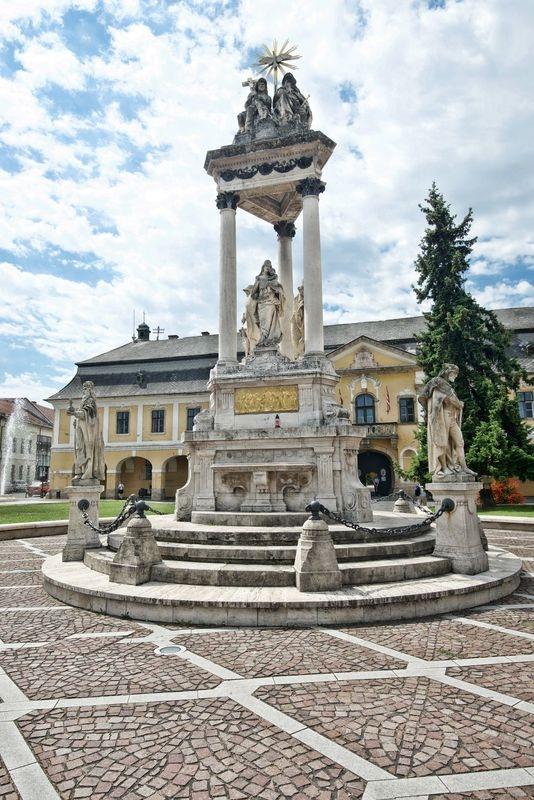 Szechenyi square,Ezstergom
