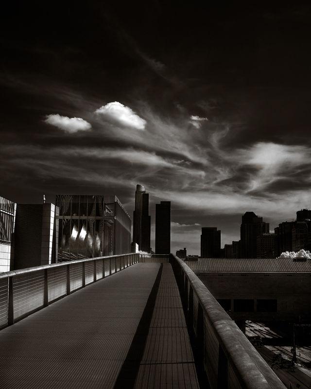 Chicago Art Institute Bridge