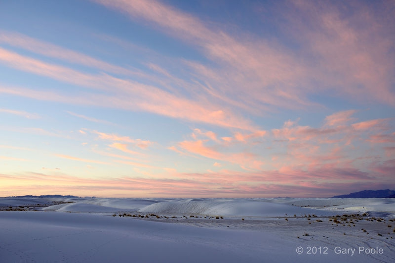 Dawn at White Sands - 2