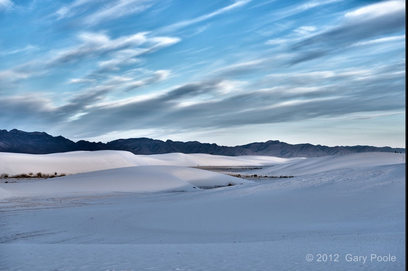Sunrise at White Sands - 3