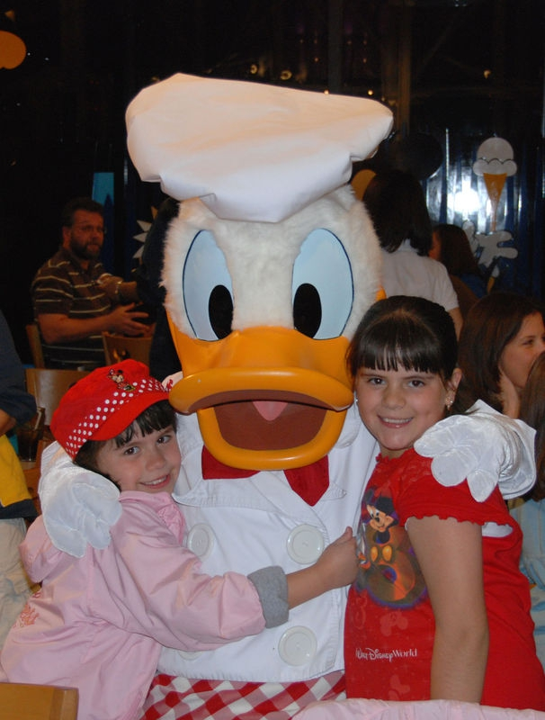DONALD AND GIRLS