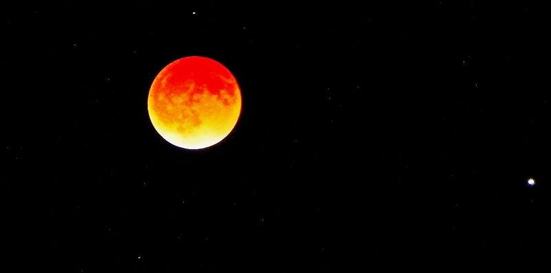 Lunar Eclipse April of 2014.