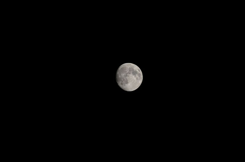 not quite a full moon
