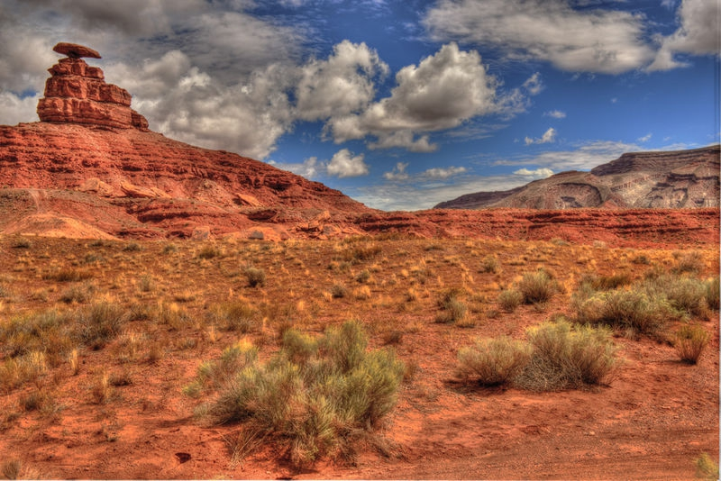 Mexican Hat after the rain.
