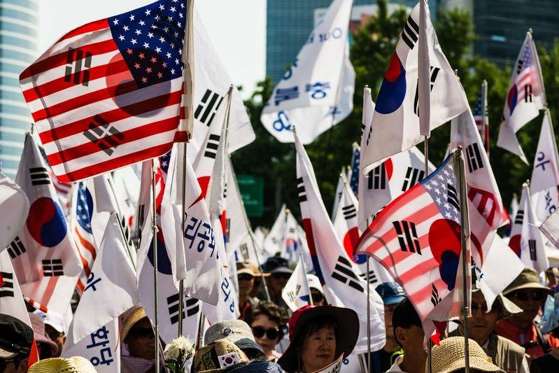 Korea Protest