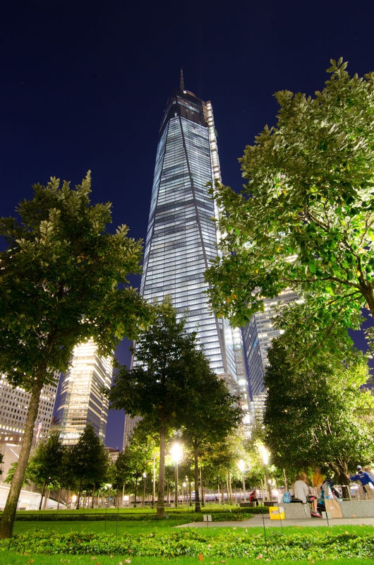 Freedom Tower from the WTC Memorial