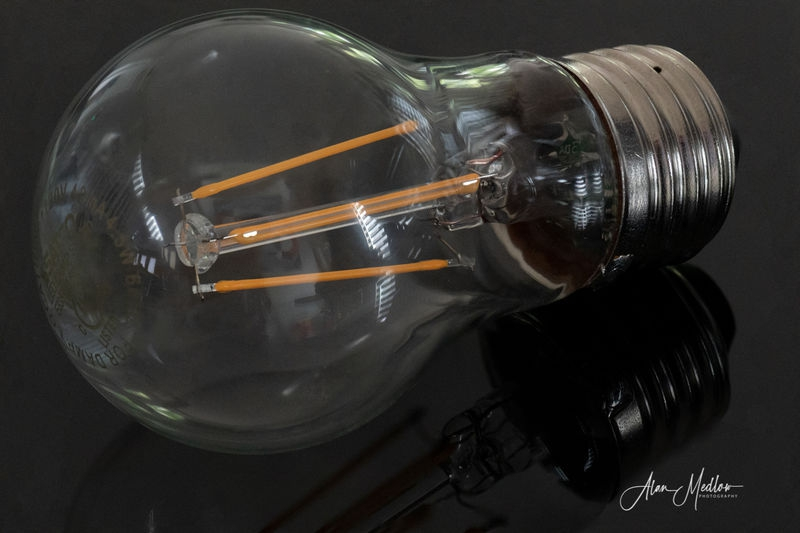 Bulb, stacked image