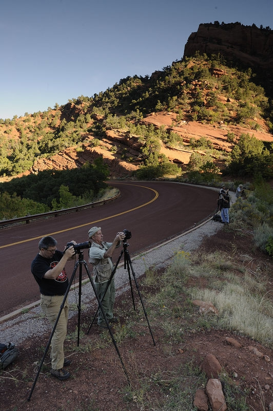 VAN-2 in full swing at Kolob Canyons - Zion National Park