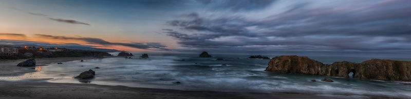 Dawn Panorama, Bandon OR