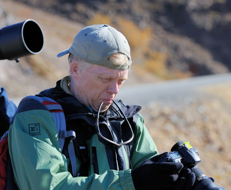 Philip Boggs Chimping at Polychrome Overlook