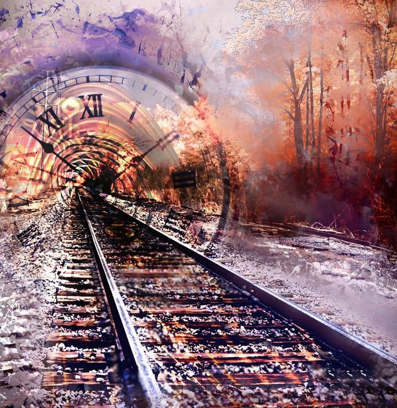 Time Portal-Watercolor