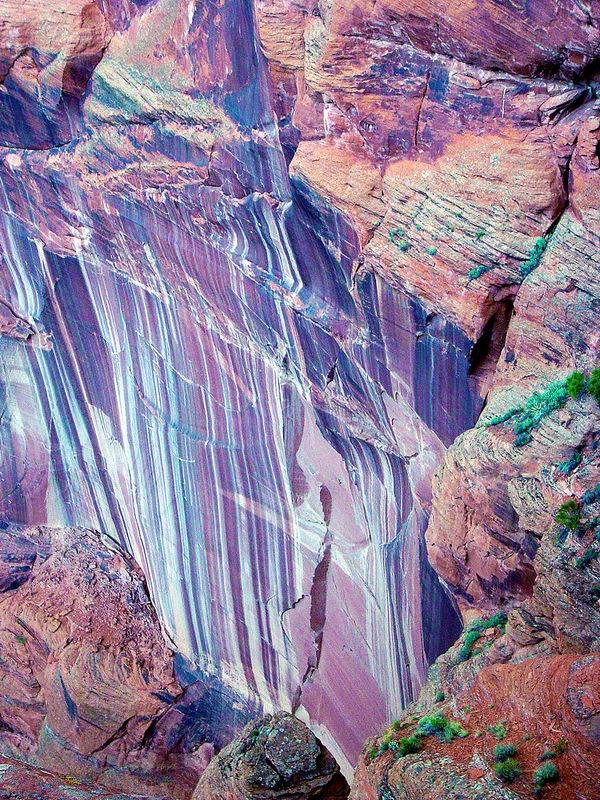 Rainbow Rock Formation