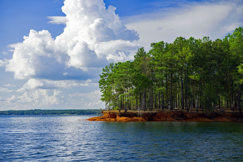 Goat Island on Lake Murray, S.C.