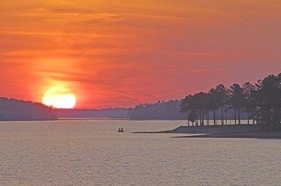 Sunset, Lake Murray