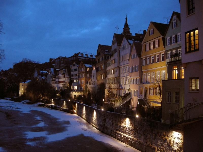 Dusk at Tübingen