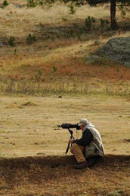 Ron Shooting Prairie Dogs