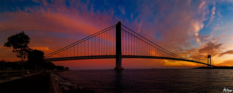twilight at Verrazano's..........